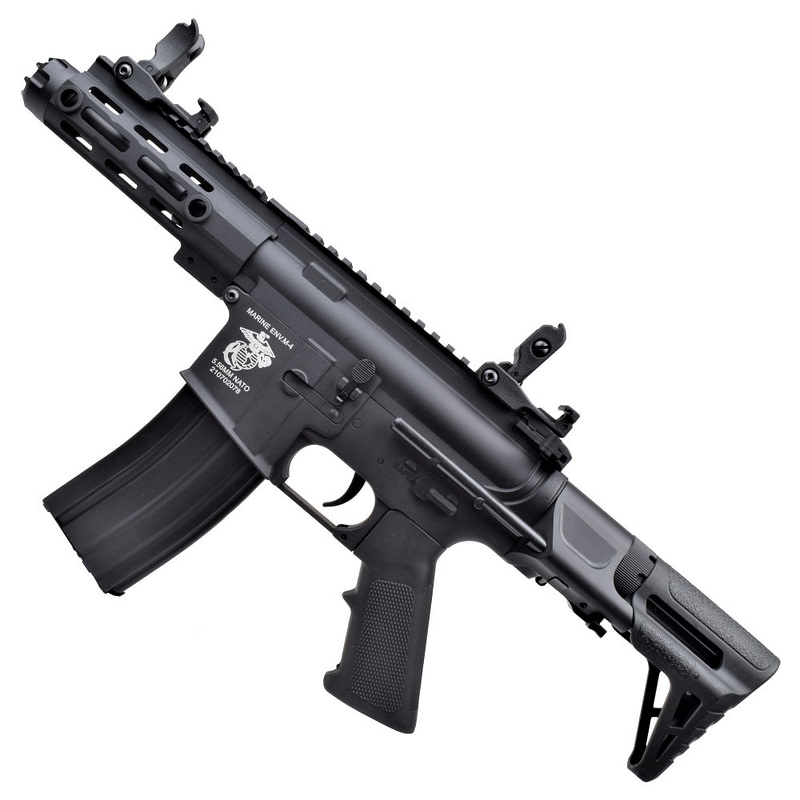 dboys electric rifle m4 pdw black 1131 2