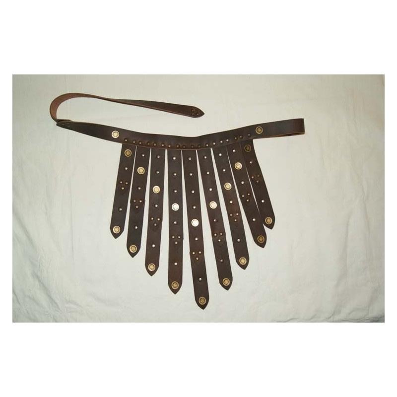 cinturon romano marron