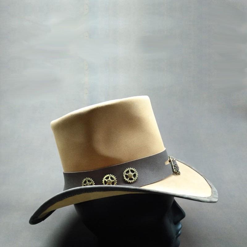 sombrero chistera steampunk 3