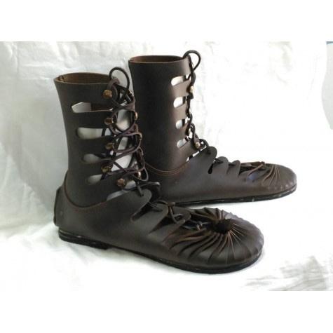 sandalia bota greco romana mo