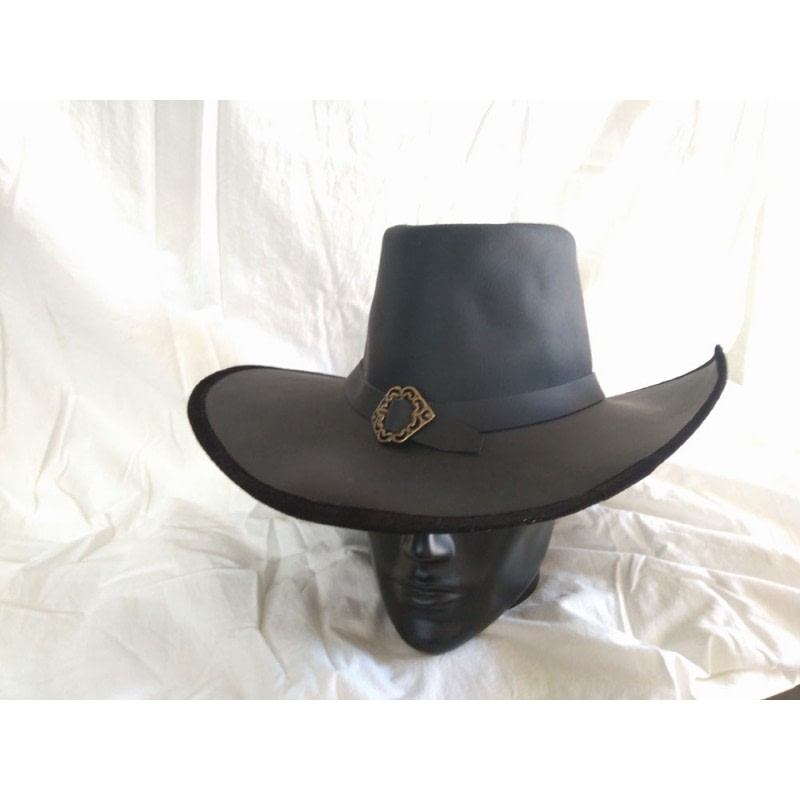sombrero siglo xvii ala ancha