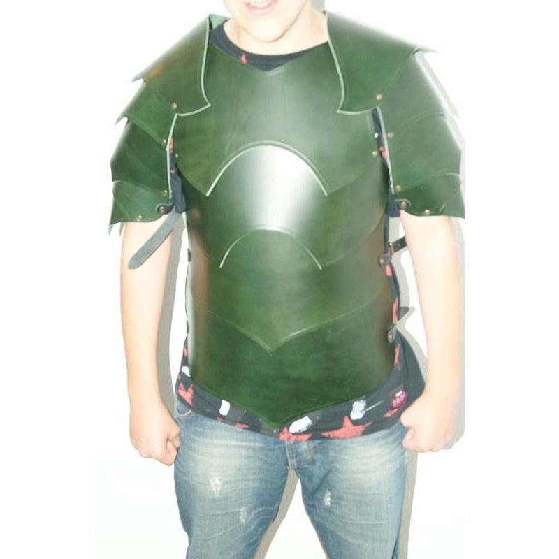 armadura de cuero warlord