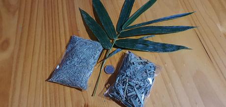 Formatos de hojas de bambú
