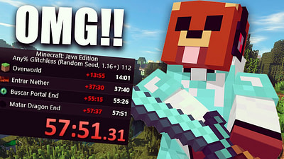 El Rubius pasa 'Minecraft' en menos de 1 hora y reta a que lo superen