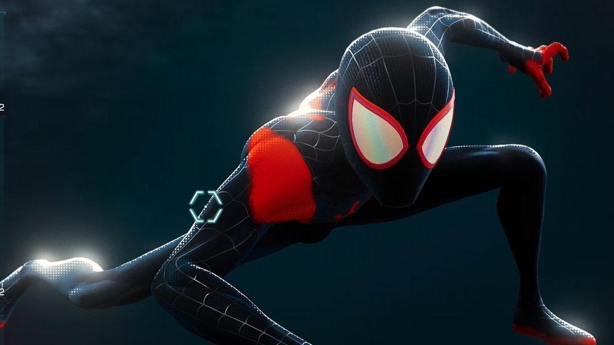 Traje de Un nuevo universo de Spider-Man: Miles Morales.
