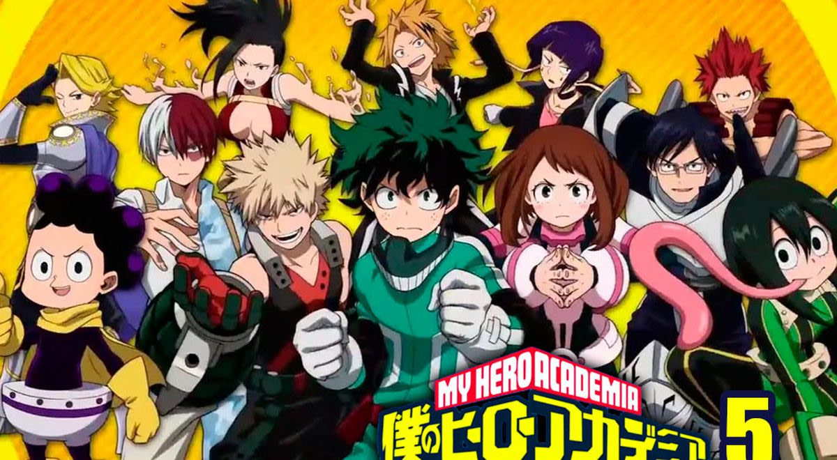 My Hero Academy Temporada 5