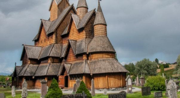 El misticismo de las Iglesias de Madera Medievales