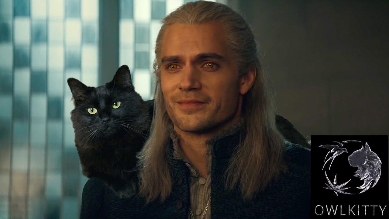 Así sería The Witcher si Gerald de Rivia tuviera un gato