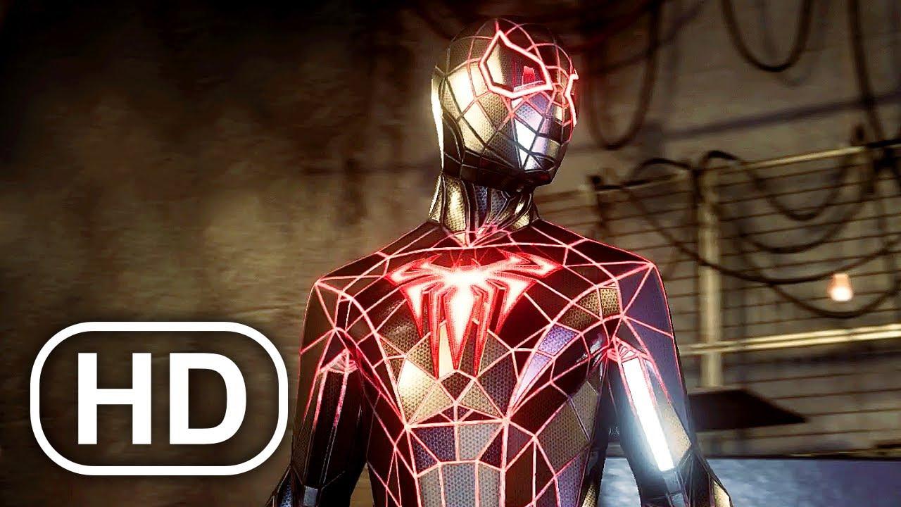Traje de materia programable de Spider-Man:Miles Morales.