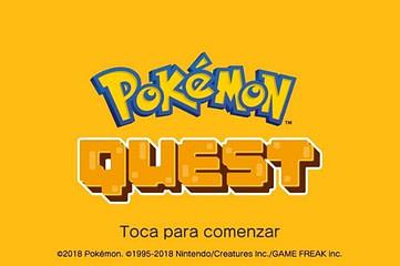 Inicio Pokémon Quest