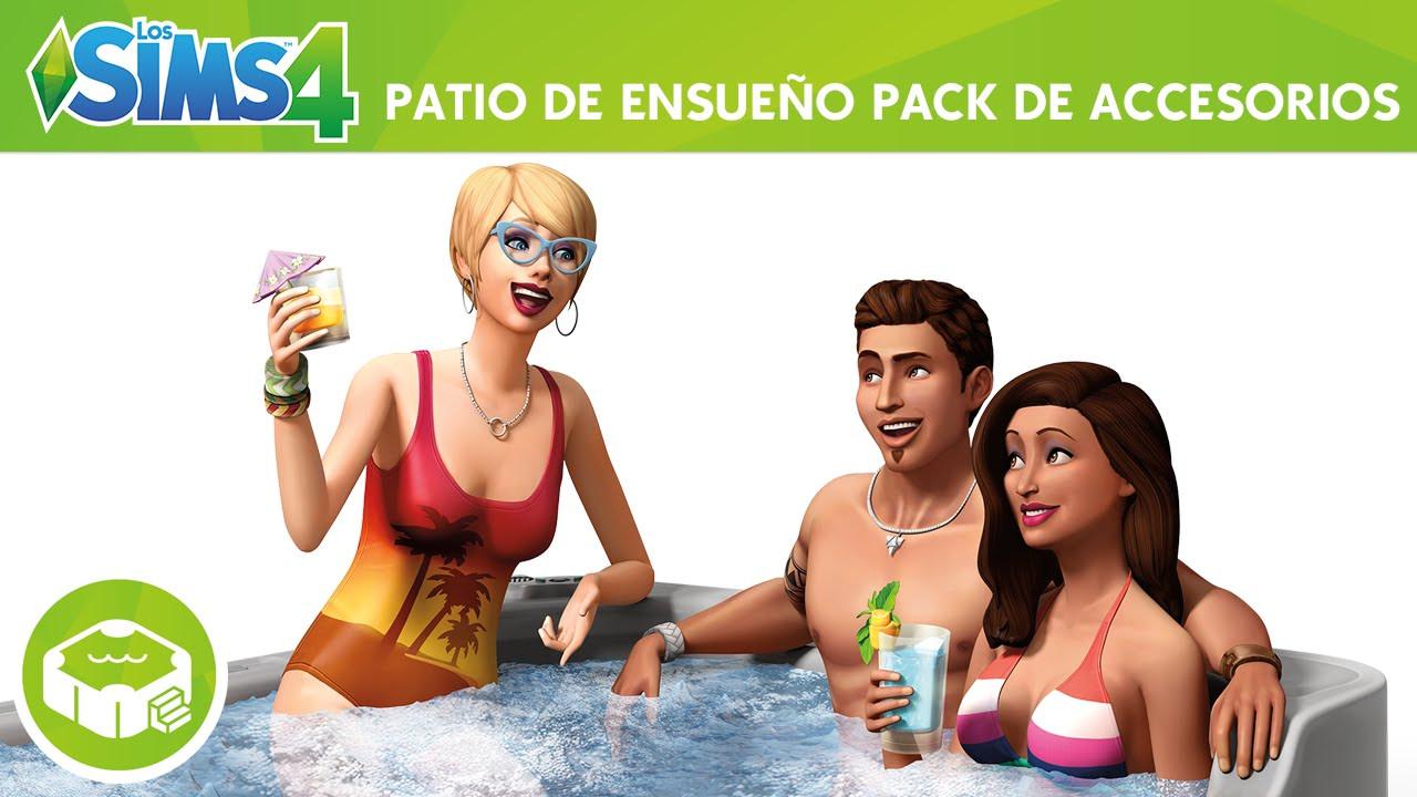 Sims 4 Patio de Ensueño
