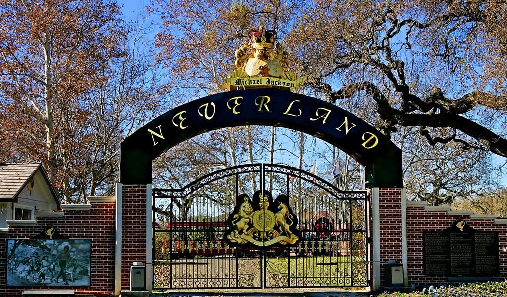 Se vende el Rancho Neverland de Michael Jackson. por qué ese nombre?