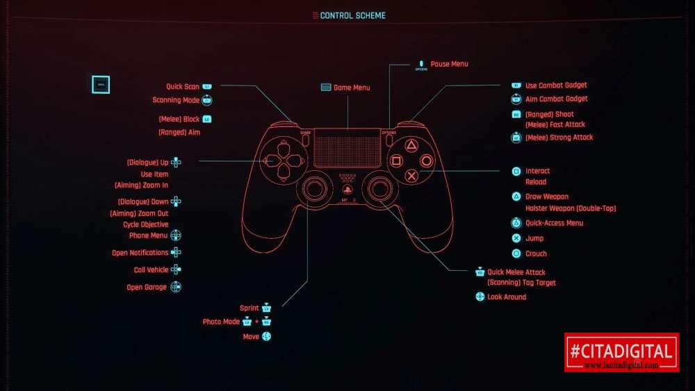 Control cyberpunk 2077