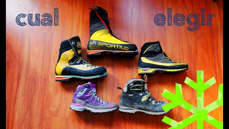 Recomendaciones para elegir las mejores botas de montaña