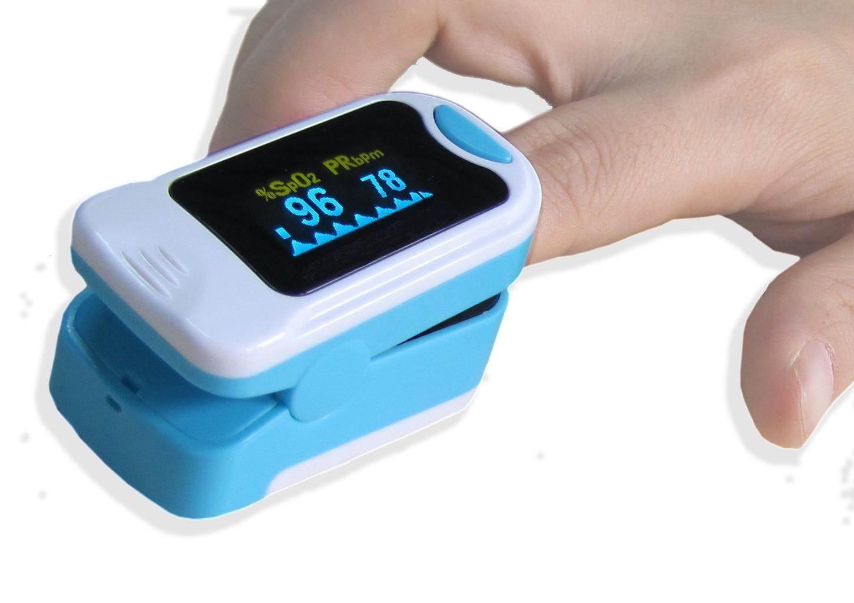Oximetro para medir oxigeno en sangre prevenir el covid
