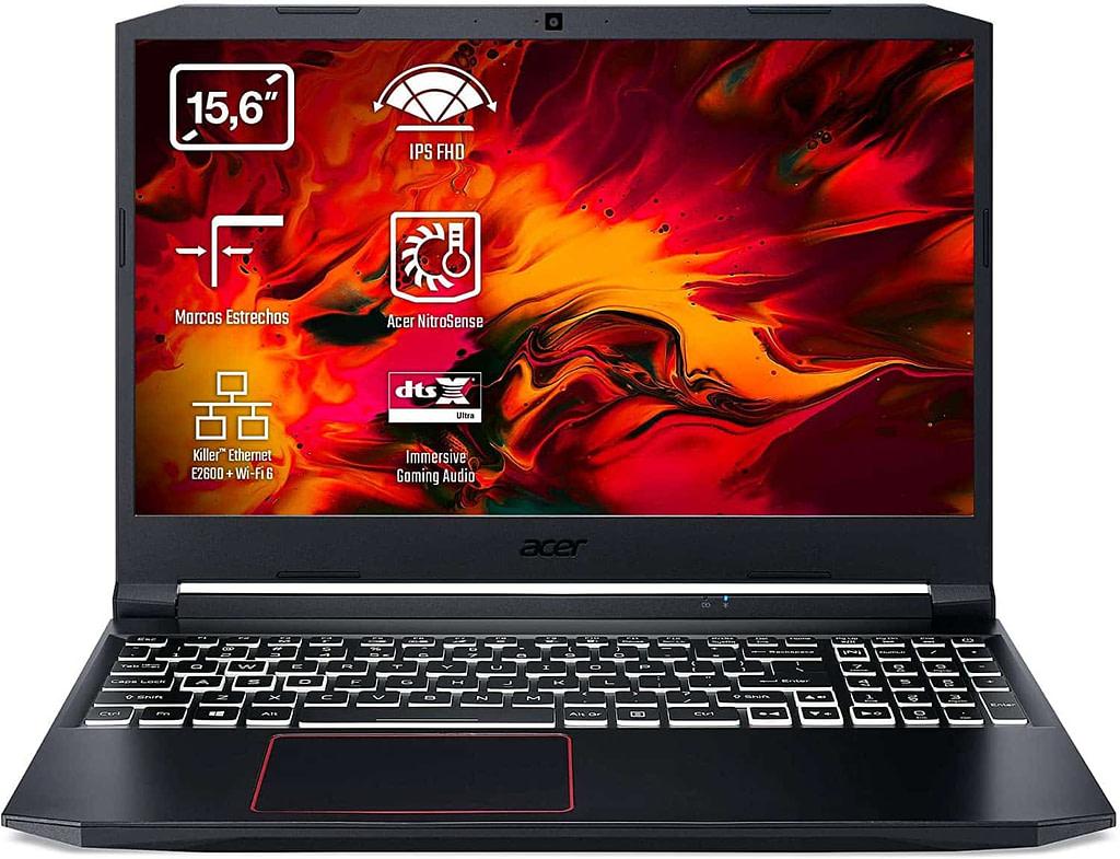 Estas son las mejores ofertas en PC para videojuegos de estas navidades 2020  Acer Nitro 5 AN515-52