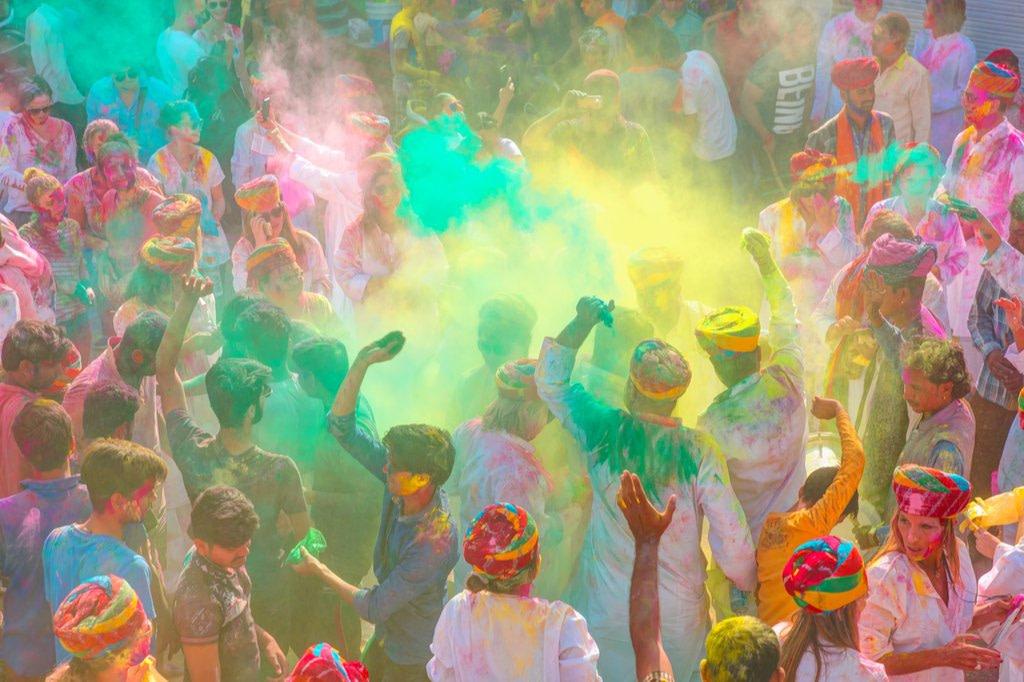 El Holi: Festival de los colores y la primavera