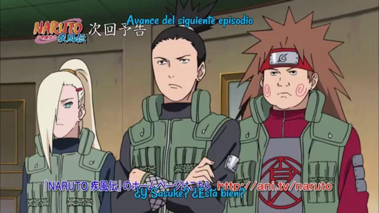 Naruto Shippuden episodio 449