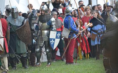 Arqueros en los ejércitos medievales