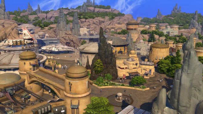 Los Sims 4 Star Wars: Viaje a Batuu