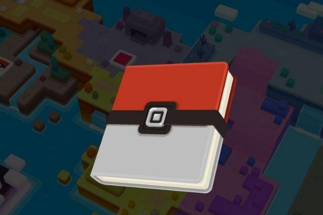 Ingreso a Pokedex de pokemon quest