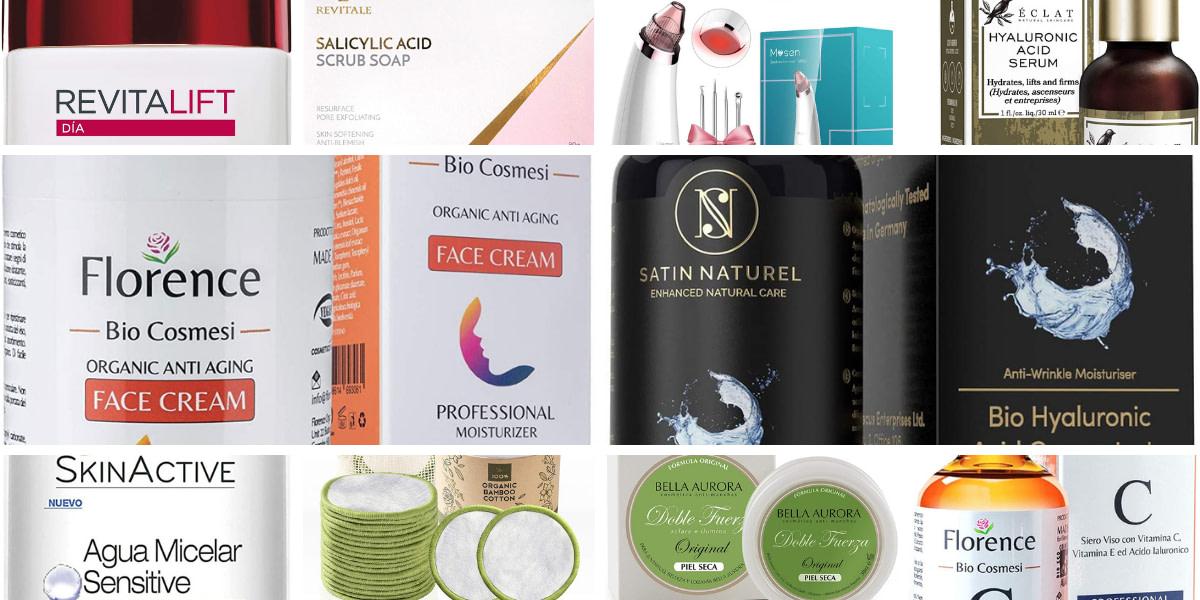 Los productos de skin care más vendidos