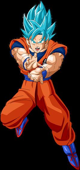 Personajes animados que usan el color anaranjado, Goku