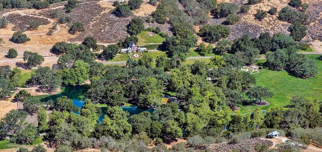 Se vende el Rancho Neverland de Michael Jackson, ubicación